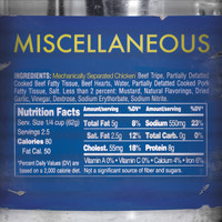 Miscellaneous - Mechanically Separated Chicken (Explicit)