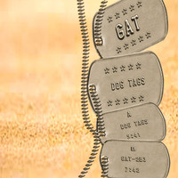 G@T - Dog Tags