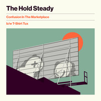 The Hold Steady - Confusion In The Marketplace b/w T-Shirt Tux