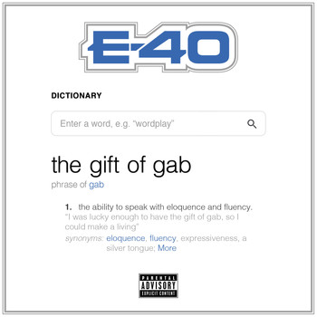 E-40 - The Gift of Gab (Explicit)