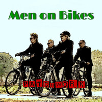 Patchwork - Men on Bikes