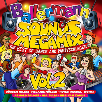 Various Artists - Ballermann Sounds Megamix, Vol. 2 (The Best of Dance & Partyschlager)