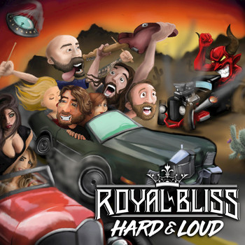 Royal Bliss - Hard and Loud