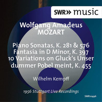 Wilhelm Kempff - Mozart: Works for Piano