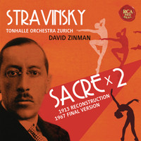 David Zinman - Stravinsky: Le sacre du printemps (Original Version 1913 & Revised Version 1967)