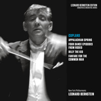 Leonard Bernstein - Copland: Appalachian Spring, Rodeo, Billy the Kid & Fanfare for the Common Man