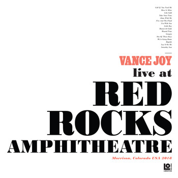 Vance Joy - Live at Red Rocks Amphitheatre