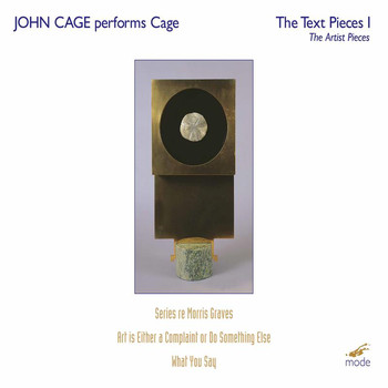 John Cage - John Cage: The Text Pieces & The Artists Pieces, Vol. 1 (Live)