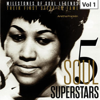 Aretha Franklin - Milestones of Soul Legends: Five Soul Superstars, Vol. 1