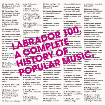 Various Artists - Labrador 100 - A Complete History of Popular Music