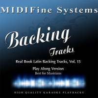 MIDIFine Systems - Real Book Latin Backing Tracks, Vol. 15 (Play Along Version)