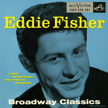 Eddie Fisher With Hugo Winterhalter & His Orchestra - Broadway Classics