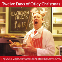Visit Otley featuring Sally's Army, Sally Egan and Richard Sabey - Twelve Days of Otley Christmas