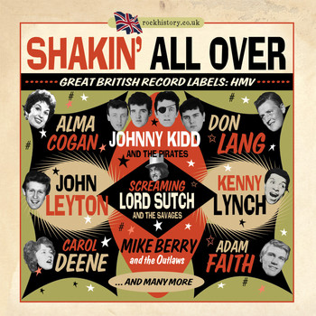 Various Artists - Shakin' All Over - Great British Record Labels HMV