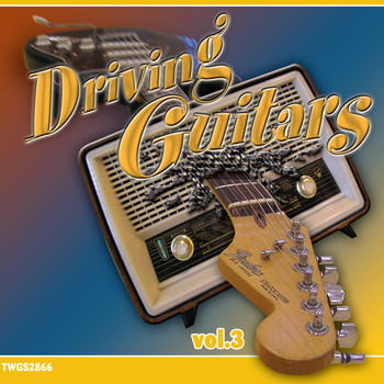 Oy Rytmimusiikki Ab, The Dangers, Guitar Ra & The Suns, The Silver Hawks, Half & Half - Driving Guitars vol. 3