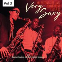 Dizzy Gillespie - Milestones of Jazz Saxophone Legends: Very Saxy, Vol. 3