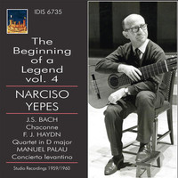 Narciso Yepes / Cuarteto Clásico de Madrid - The Beginning of a Legend, Vol. 4