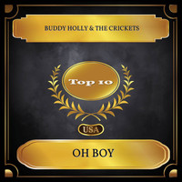 Buddy Holly & The Crickets - Oh Boy (Billboard Hot 100 - No. 10)