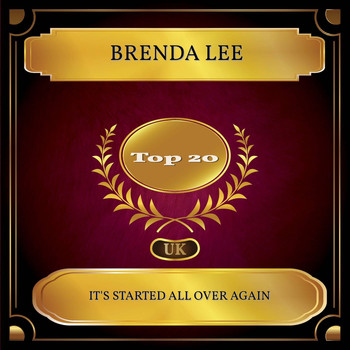 Brenda Lee - It's Started All Over Again (UK Chart Top 20 - No. 15)