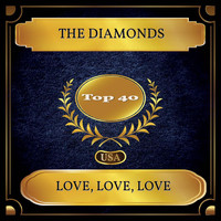 The Diamonds - Love, Love, Love (Billboard Hot 100 - No. 30)