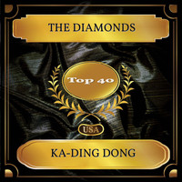 The Diamonds - Ka-Ding Dong (Billboard Hot 100 - No. 35)