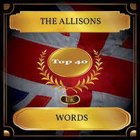 The ALLISONS - Words (UK Chart Top 40 - No. 34)