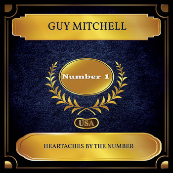 Guy Mitchell - Heartaches By The Number (Billboard Hot 100 - No 01)