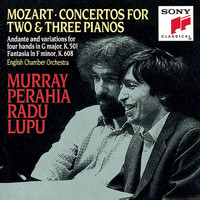 Murray Perahia - Mozart: Concertos for 2 & 3 Pianos; Andante and Variations for Piano Four Hands