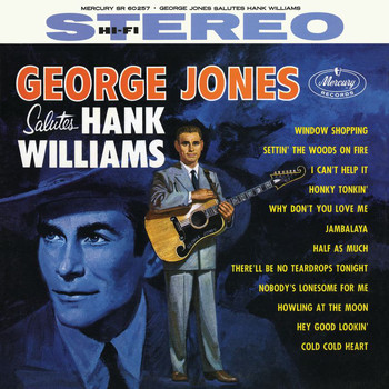 George Jones - George Jones Salutes Hank Williams