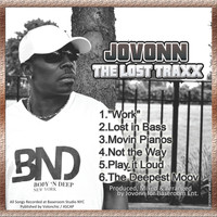 Jovonn - The Lost Traxx