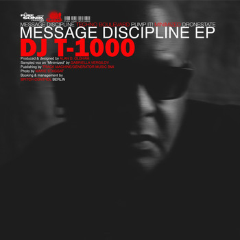 DJ t-1000 - Message Discipline EP