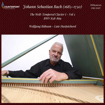 Wolfgang Rübsam - Bach: The Well-Tempered Clavier, Vol. 2, BWV 858-868