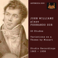 John Christopher Williams - Sor: 20 Etudes & Variations on Theme by Mozart