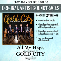 Gold City - All My Hope (Performance Tracks) - EP