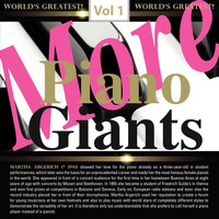 Martha Argerich - More Piano Giants: Martha Argerich, Vol. 1