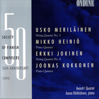 Avanti! Quartet / Jaana Kärkkäinen - Society of Finnish Composers 50th Anniversary 1995, Vol. 1