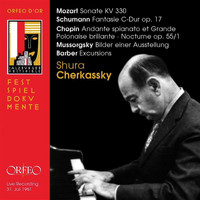 Shura Cherkassky - Mozart, Schumann, Chopin & Others: Piano Works (Live)