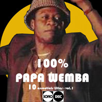 Papa Wemba - 100% Papa Wemba, vol. 1 (10 Essential Titles)
