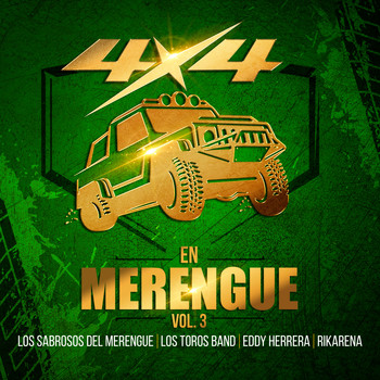 Varios Artistas - 4x4 en Merengue, Vol. 3