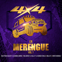 Varios Artistas - 4x4 en Merengue, Vol. 1