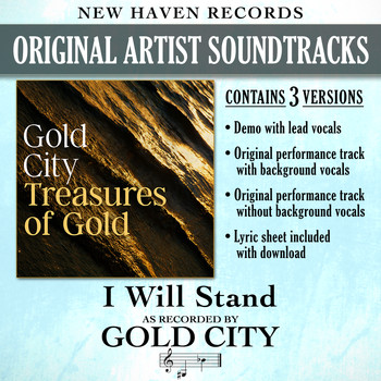 Gold City - I Will Stand (Performance Tracks) - EP