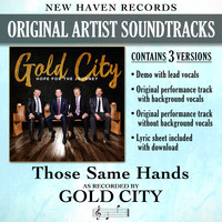 Gold City - Those Same Hands (Performance Tracks) - EP