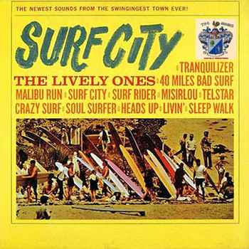 The Lively Ones - Surf City