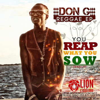 Don G - You Reap What You Sow