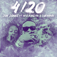 Jim Jones - 4/20 (feat. Wiz Khalifa & Curren$y) (Explicit)