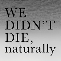 WE DIDN`T DIE,naturally - Grey EP
