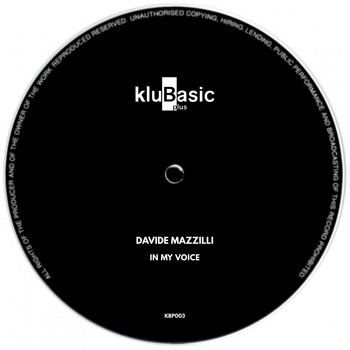 Davide Mazzilli - In My Voice