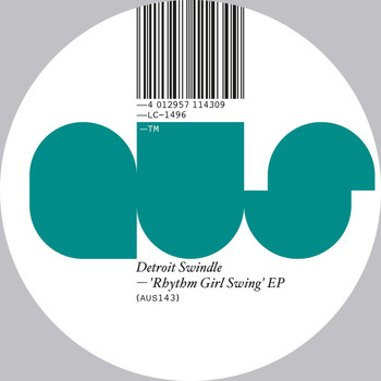 Detroit Swindle - Rhythm Girl Swing EP