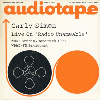Carly Simon - Live on 'Radio Unameable' WBAI Studio, New York 1971 WBAI-FM Broadcast (Remastered)