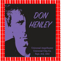 Don Henley - Universal Ampitheater, Universal City, Sept. 3, 1985